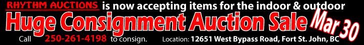 Huge Indoor Outdoor Consignment Sale in Fort St. John on Mar 30, 2019