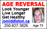 Age Reversal - Look Younger - Live Longer - Get Healthy - jomiddleton.ca - 250-827-3826